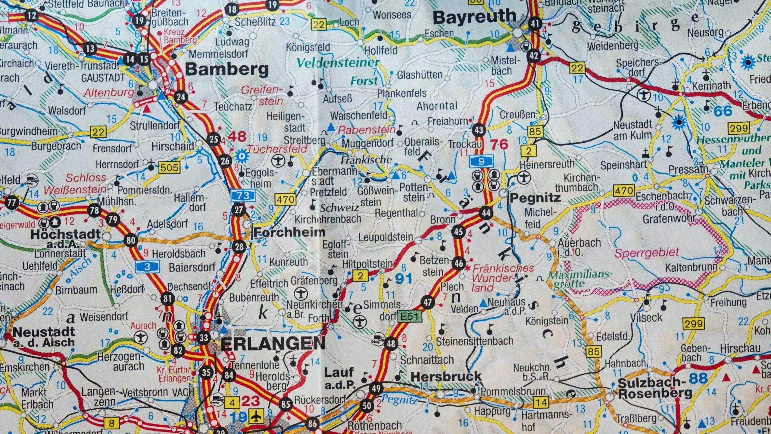 Német földrajzi nevek