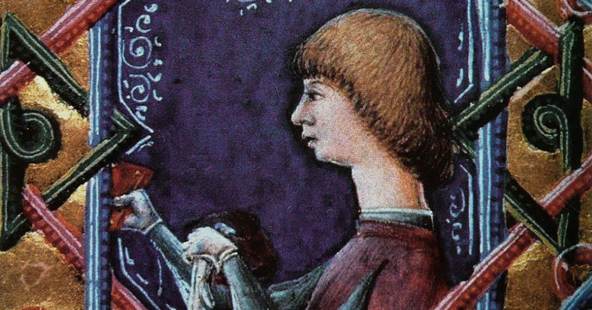 Janus Pannonius portreja