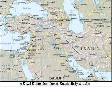 Közel Kelet térkép