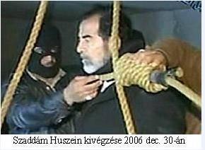 Saddam kivégzése