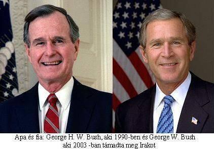 Az Öböl-háború (1990/91) és az Iraki háború (2003) története